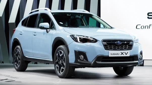 angular front of a Subaru XV 2018