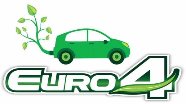 Euro 4 emissions standard logo