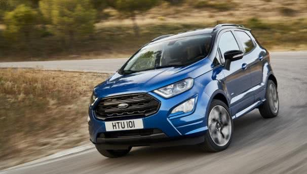 Ford EcoSport 2018 outdoor