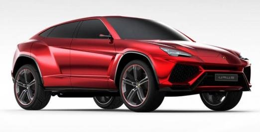 2019 Lamborghini Urus rendering