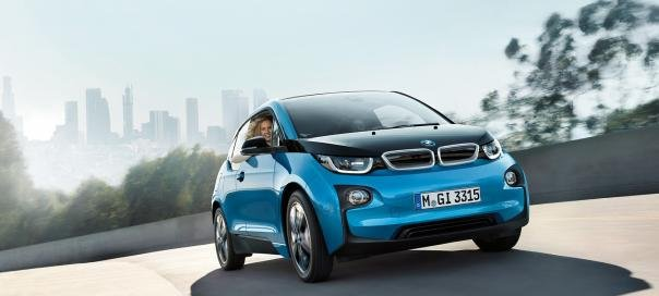 a BMW electric vehicle
