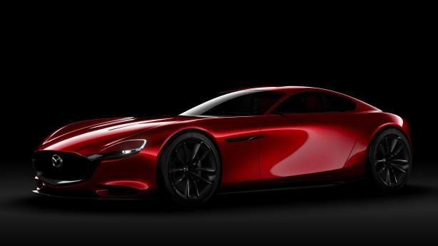 angular front of the Mazda RX-Vision Concept