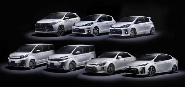 Toyota GR lineup ò 7 models