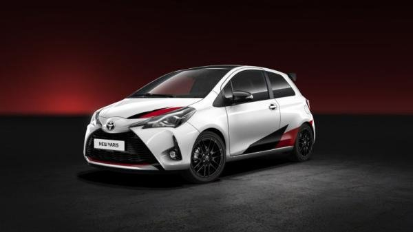 angular front of the 2018 Toyota Yaris GRMN