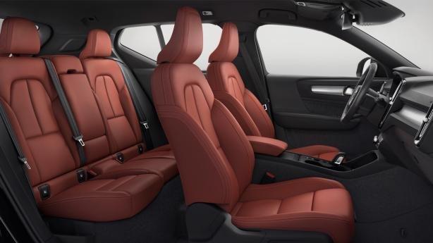 Volvo XC40 2018 interior