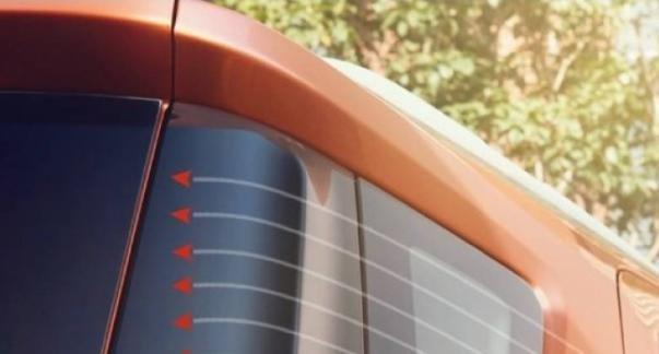 Ford EcoSport 2018's D-pillar