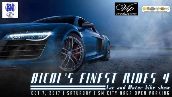 Banner of the Bicol's Finest Rides 4 car show