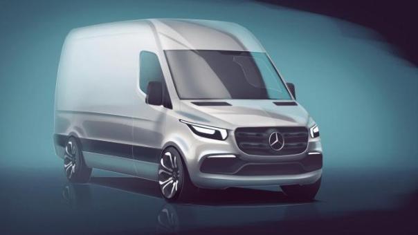 Mercedes-Benz Sprinter 2018 teaser photo