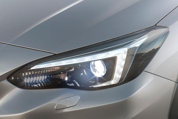 Subaru XV 2018 headlights
