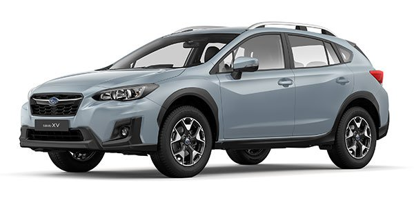 angular front of the Subaru XV 2.0i 2018