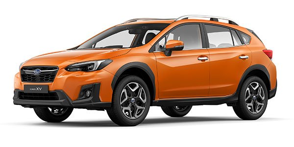 angular front of the Subaru XV 2.0i-S 2018