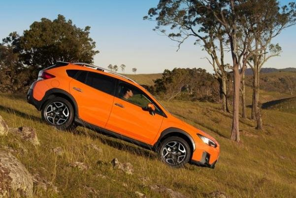 Subaru XV 2018 down the hill
