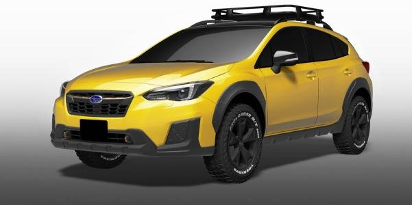 angular front of the Subaru XV Fun Adventure concept