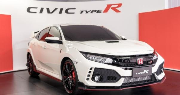 angular front of the new FK8 Honda Civic Type R 2017