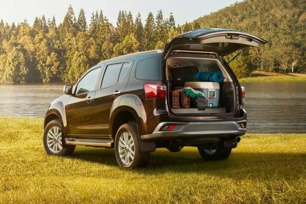 Isuzu MU-X 2018 trunk space