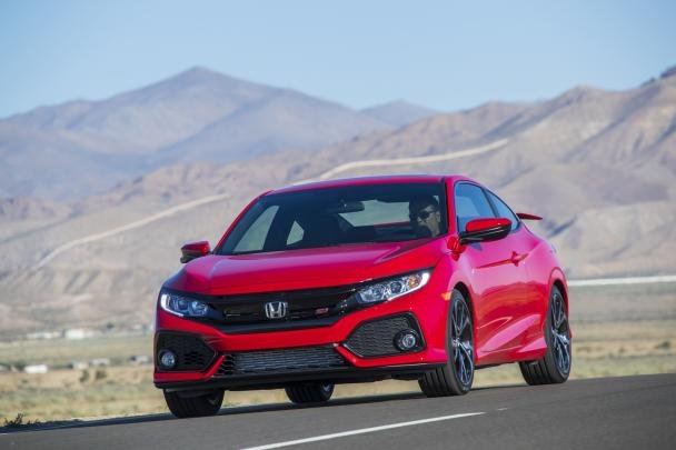 front view of the Honda Civic 2018