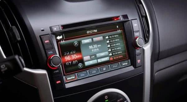 Isuzu MUX interior features