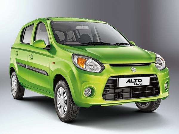 angular front of the Maruti Suzuki Alto 800 Utsav
