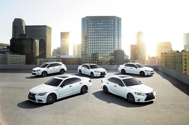 Lexus models