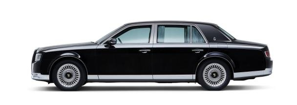 side view of the Toyota Century 2018
