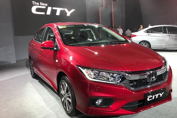 A picture of the 2019 Honda City