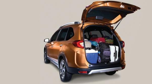 Honda BR-V 1.5 S 2017 cargo trunk