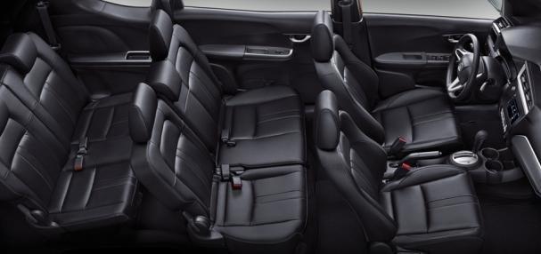 Honda BR-V 1.5 S 2017 Interior