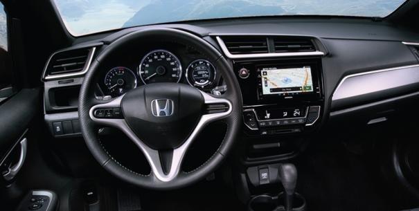 Honda BR-V 1.5 S 2017 dashboard