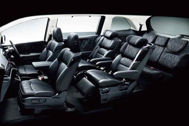 Interior of the Honda Odyssey 2018