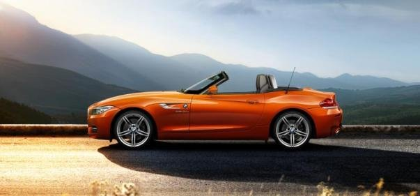 BMW Z4 side view