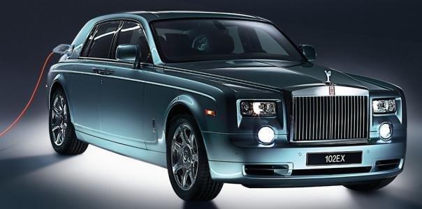 Rolls-Royce 102EX Concept angular front