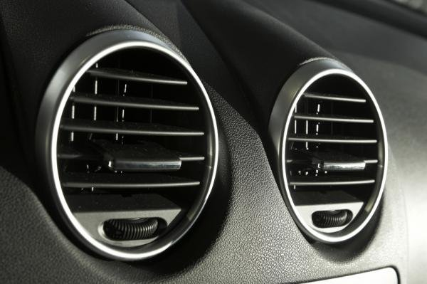 A car air conditioner