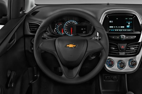 The New Chevy Spark Steering Wheel Features Bluetooth And Audio Controls
