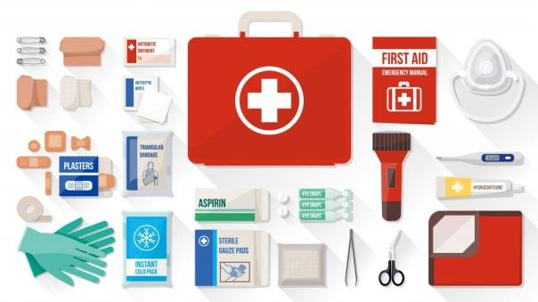 first-aid supplies for safety