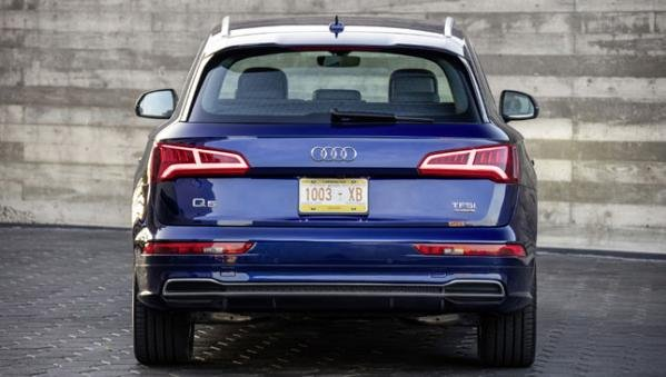Audi Q5 2018 rear view