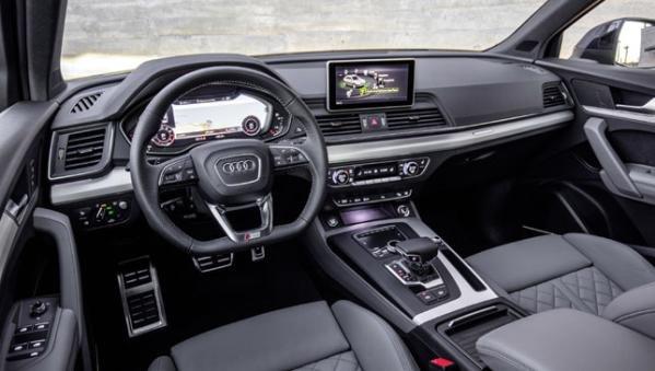 Audi Q5 2018 interior