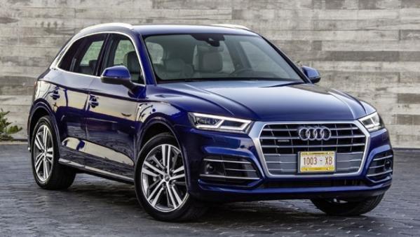 Audi Q5 2018 angular front