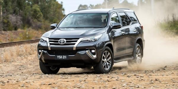 Toyota Fortuner 2018 angular front