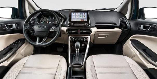 Ford EcoSport 2018 interior