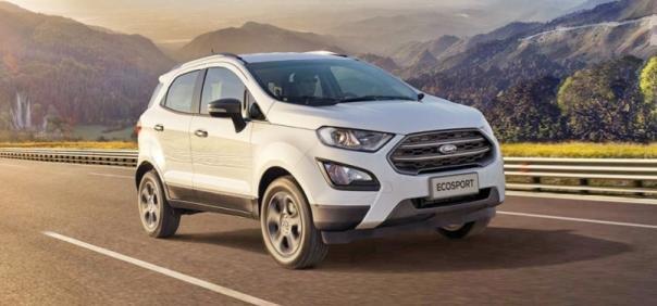 Ford EcoSport 2018 angular front