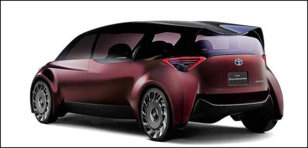 Toyota Fine-Comfort Ride concept angular rear