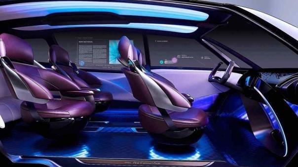 Toyota Fine-Comfort Ride concept interior