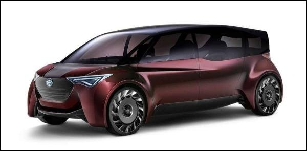 Toyota Fine-Comfort Ride concept angular front
