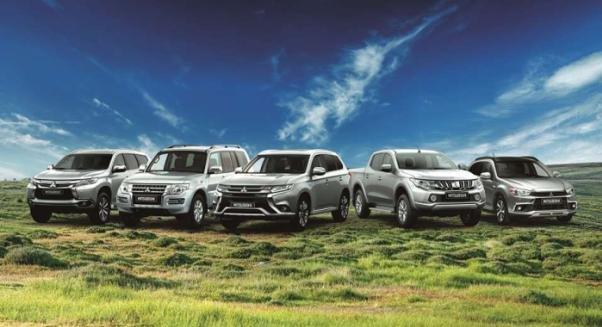 Mitsubishi lineups