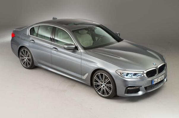 all-new BMW 5 Series angular front