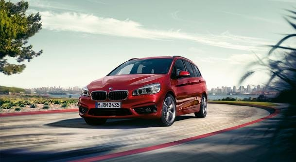 BMW 2 Series Gran Tourer on the road