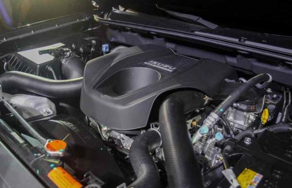 A new engine of the upgraded MU-X and D-max
