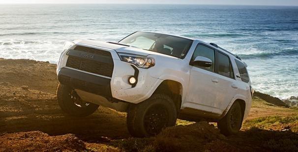 Toyota 4Runner angular front