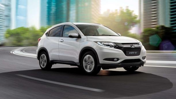 Honda HR-V angular front