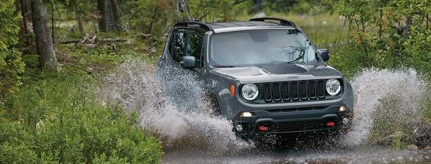 Jeep Renegade angular front